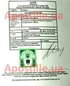 Легализация документов иностранных граждан